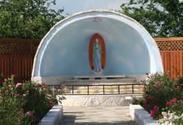 Christ Our Light's Grotto to Our Lady of Guadalupe
