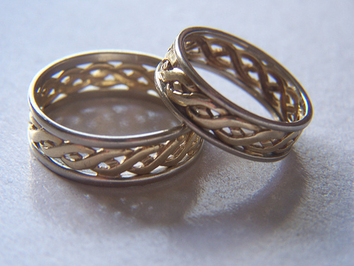 Wedding Rings by firemedic http://www.flickr.com/photos/50841708@N00/